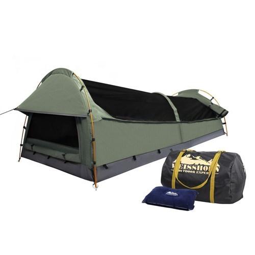 Weisshorn King Single Size Canvas Tent - Celadon