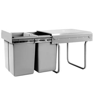Dual Side Pull Out Rubbish Waste Basket