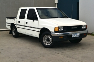 1990 Holden Rodeo DLX 2600 2WD Dual Fuel 5 Seater, 420 548, Manual