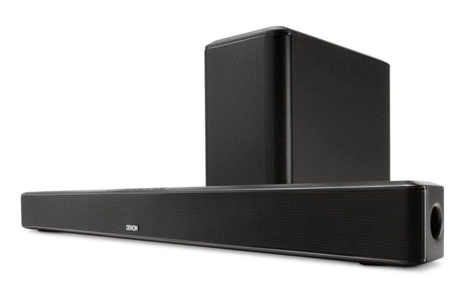 Denon DHT S514 Soundbar With Wireless Subwoofer Black