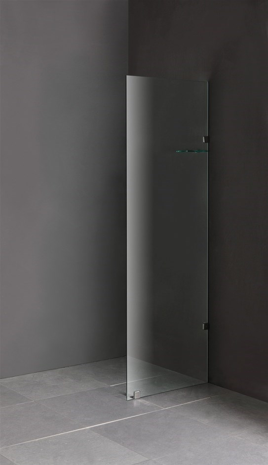 800 x 2000mm Frameless 10mm Safety Glass Shower Screen