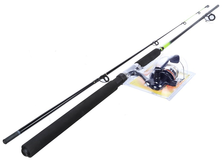 BERKLEY 8ft 2pc Combo Spin Fishing Rod, Medium Action 6-10kg. Buyers Note -