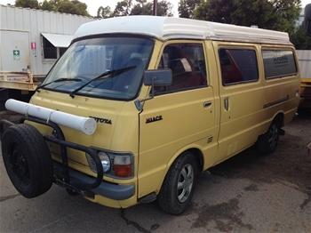 Toyota Hiace Camper Van 1977 Melrose Park Sa Auction