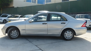 2001 Mercedes Benz C180 Classic Sedan Auction 0001 5014008 Graysonline Australia