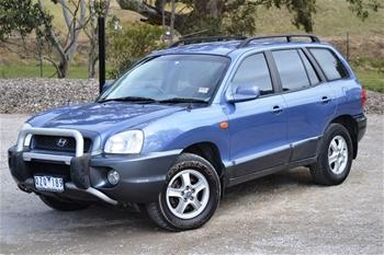 2001 Hyundai Santa Fe Gls Sports Automatic 4wd 218 985