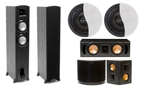 klipsch dolby atmos speaker pack auction graysonline australia. Black Bedroom Furniture Sets. Home Design Ideas