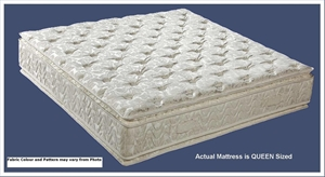 royal bedding queen contour double sided pillow top innerspring mattress auction 0003 2062683. Black Bedroom Furniture Sets. Home Design Ideas