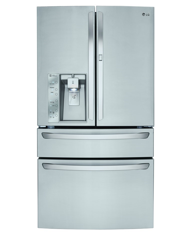 LG Customchill 701L Stainless Steel French Door Fridge (GF-AD701SL)