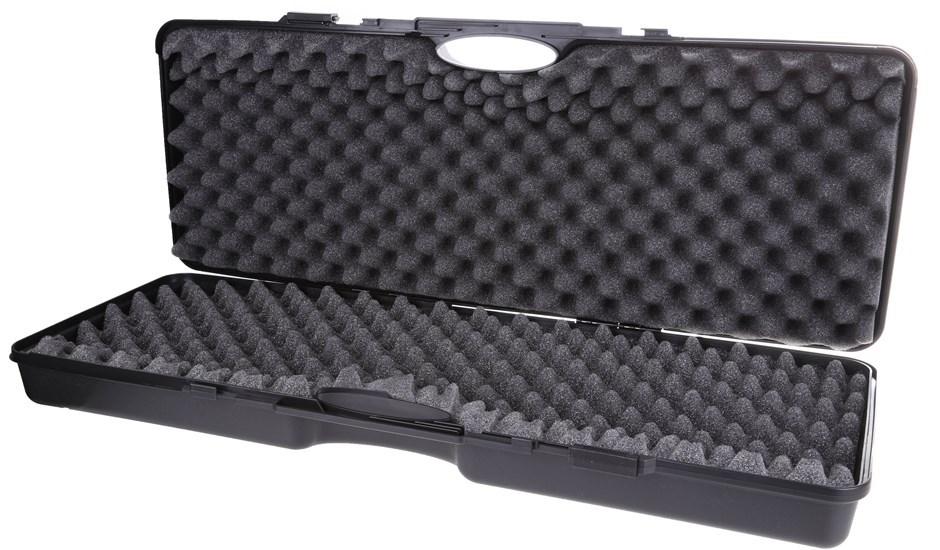 TSUNAMI Hard Gun Case, ABS Plastic, Internal Wavy + Cube Foam 870(L) x 320(