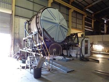 Roto Mould Machine