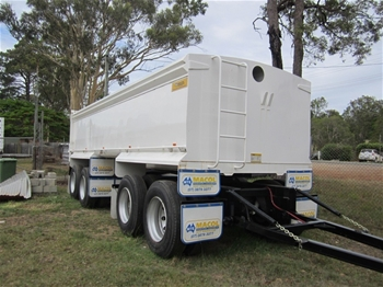 New Tipping Trailers Machinery Tag Trailer