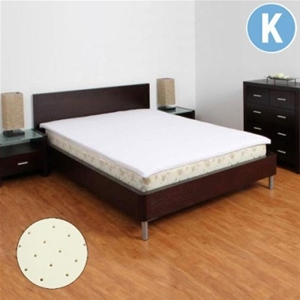 4cm latex mattress topper king auction graysonline australia. Black Bedroom Furniture Sets. Home Design Ideas