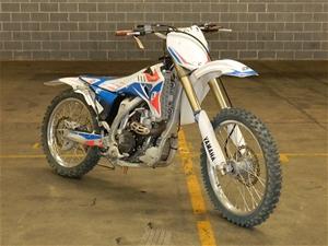 2009 Yamaha YZ450F trail bike, Compliance date: N/A, Colour: Wh ...