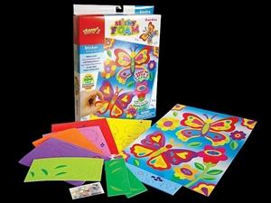Bulk quantity sticky foam garden kids craft kits auction for Craft kits for kids in bulk
