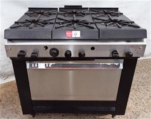 gas stove garland 6 burner stove with oven note no. Black Bedroom Furniture Sets. Home Design Ideas