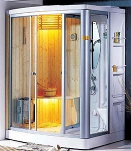 appollo shower and sauna combo unit overall dimensions 1650mm x